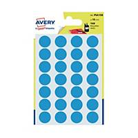 Avery Dot Label Blue  15mm - Pack of 168