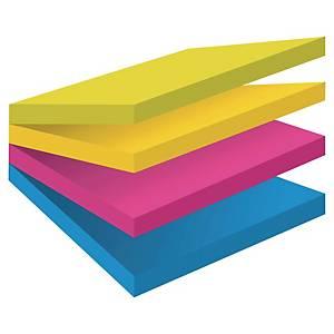 Karteczki samoprzylepne Post-it Super Sticky Kostka Easy-Select,76x76mm,300k