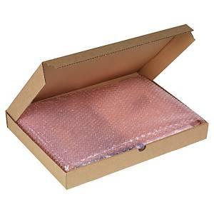 Boîte d'expédition, carton simple cannelure brun ultra fin, 220x50x310mm, 50x