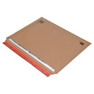 ColomPac® Versandtasche dehnbar, 570 x 420 x 50 mm, braun
