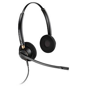 Plantronics EncorePro HW520 telefoon headset met snoer, binauraal 2 oorschelpen