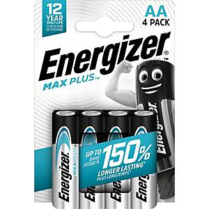 Batterie Energizer 638900, Mignon, LR06/AA, 1,5 Volt, ECO MAX PLUS, 4 Stück