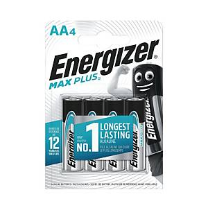 ENERGIZER ALKALINE ECO MAX PLUS AA BATTERY - PACK OF 4