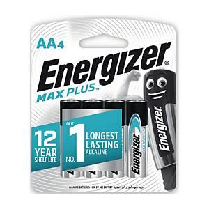 ENERGIZER ถ่านอัลคาไลน์ รุ่น MAXPLUS AA แพ็ค 4 ก้อน