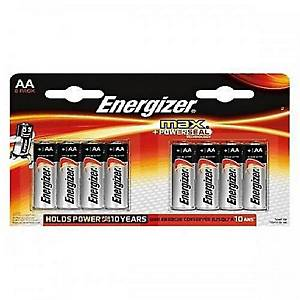 Energizer Max Plus alkaline batteries AA - pack of 8