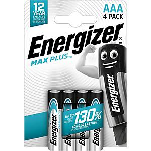 Batterie Energizer 638900, Micro, LR03/AAA, 1,5 Volt, ECO MAX PLUS, 4 Stück