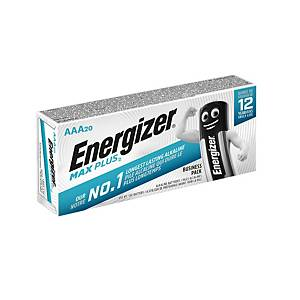 Energizer Max Plus alkaline batteries AAA - pack of 20