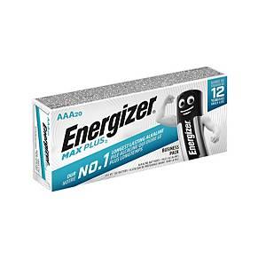 Energizer Max Plus AAA alkaline batterij, per 20 batterijen