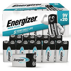 PK20 ENERGIZER ALKALINE ADVANCED BATT 9V
