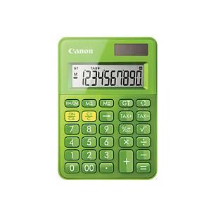 Calculadora de bolsillo Canon LS-100K - 10 dígitos - verde