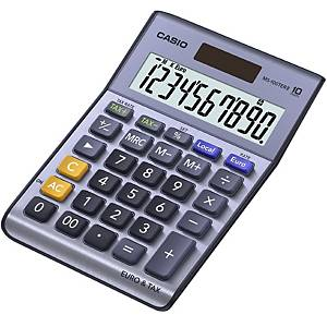 Casio MS-100TER II Desk 10-Digit Calculator
