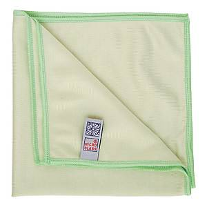 Green Microglass Cleaning Cloth 40cm X 40cm