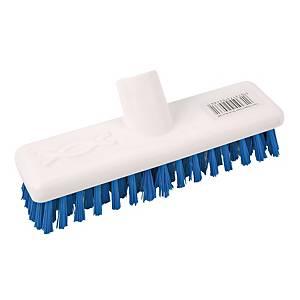Abbey Blue 23cm / 9 Inch Hygiene Deck Scrub Head Stiff