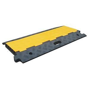 Passe câbles mobile Viso - caoutchouc - 910 x 500 x 45 mm