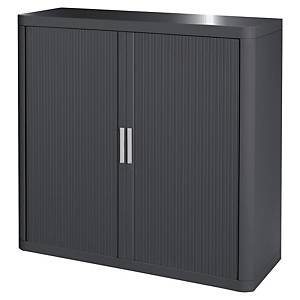 Armoire à rideaux Paperflow Easy Office - 104 x 110 cm - anthracite