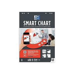 Oxford Smartcharts Plain 60X85cm Pk3