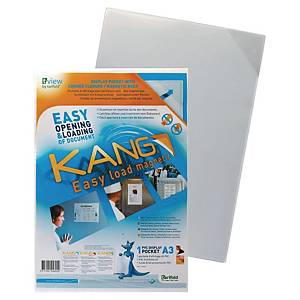 Kang Easy Clic Tarifold selbsthaftende Sichthüllen, A3, 1 Stk/Packung