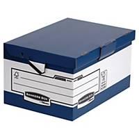 Heavy Duty Ergo-Stor maxi opbergdoos, karton, blauw-wit, FSC, per 10 dozen