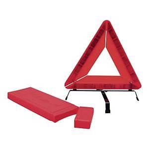 Warndreieck Viso TRIANG, 45x45x45cm, aus Metall, rot
