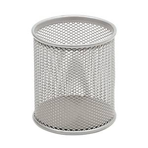 SAKOTA MESH PEN POT SILVER