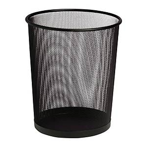 SAKOTA MESH WASTE BIN BLACK 18L