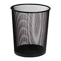 Drôtený odpadkový kôš SaKOTA 18 l, čierny