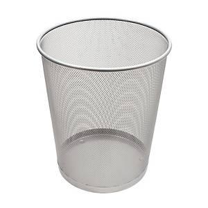 Drátěný odpadkový koš SaKOTA 18 l, stříbrný