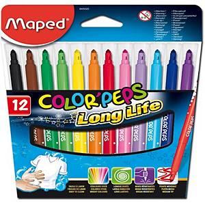 Fixy Maped Color Peps, mix barev, 12 ks