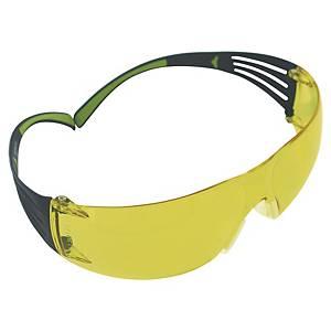 Vernebriller 3M Securefit 400, ravgul