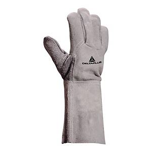 Delta Plus TC716 cowhide leather welding gloves - size 10 - pack of 12 pairs