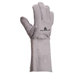 Schweißerschutzhandschuhe Deltaplus TC716, Größe 10, grau, 1 Paar