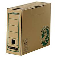 Archive box Bankers box Earth Series, W100xD350xH260mm, brown, pack 20 pcs