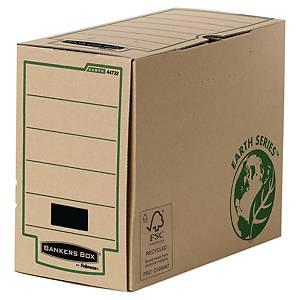 Boîte archives Bankers Box Earth Serie, l150 x P350 x H260mm, marr., 20unit.