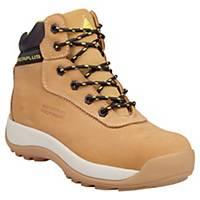 Deltaplus Saga Safety Shoes S3 Beige Size 10