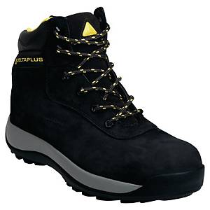 Deltaplus Saga Safety Shoes S3 Black Size 8