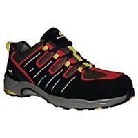 Chaussures de sécurité basses Deltaplus XR302 - noir/rouge - pointure 42