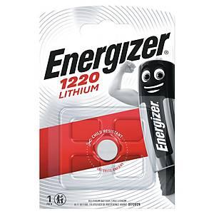 Energizer Batterie, 3V/CR1220, Lithium, Packung mit 1 Stück