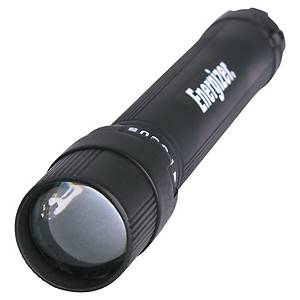 Taschenlampe Energizer X-Focus, LED, 2x LR06/AA, 50 Lumen, schwarz
