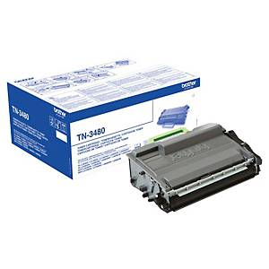 Toner laser Brother TN-3480 - preto