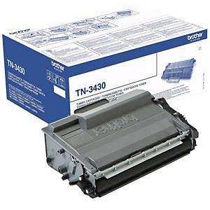 Brother TN-3430 toner cartridge, zwart