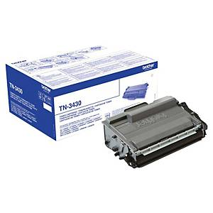 Toner laser Brother TN-3430 - preto