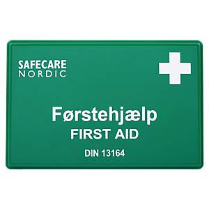OX-ON 346.00 FIRST AID CASE GREEN