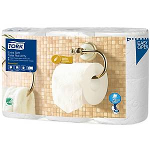 Tork Premium extra soft toilet paper 3-layers - pack of 6