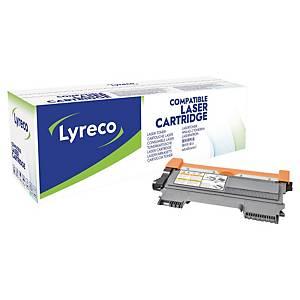 Toner Lyreco kompatibel mit Brother TN-2210, Reichweite: 1.200 Seiten, schwarz