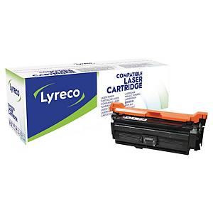 Cartouche de toner Lyreco compatible équivalent HP 653A - CF320A - noire
