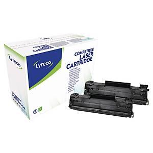 Lyreco HP 78A CE278AD laservärikasetti musta, 1 kpl=2 kasettia
