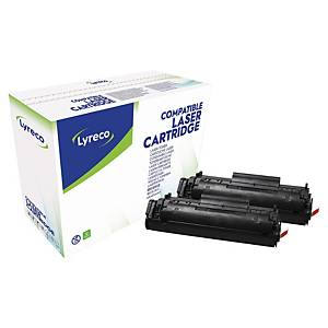 Lyreco HP Q2612AD 代用環保鐳射碳粉盒 黑色