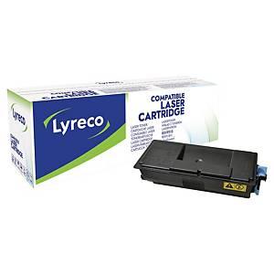 Toner Lyreco kompatibel mit Kyocera TK-3100, Reichweite: 12.500 Seiten, schwarz