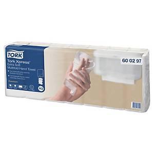 Pack 7 embalagens toalhas de mãos Tork Premium - 100 folhas - W - Folha dupla