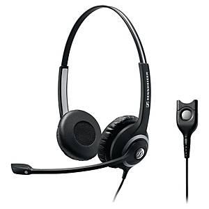 Sennheiser SC260 phone headset with cord - binaural